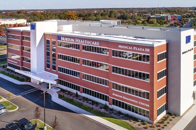 Norton healthcare medical plaza III building